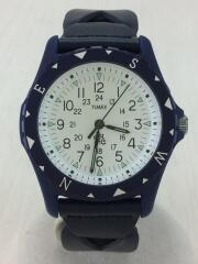ロンハーマン/腕時計/アナログ/レザー/WHT/NVY/TW2R11300
