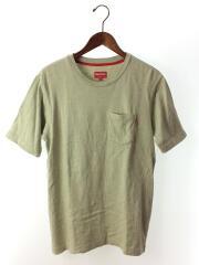Tシャツ/S/コットン/GRN