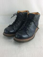 ブーツ/US8/BLK/レザー
