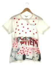 Tシャツ/M/コットン/WHT/RA-T037