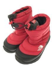 キッズ靴/18cm/--/ナイロン/RED