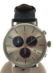 クォーツ腕時計/アナログ/フェイクレザー/クロノグラフ/フェアフィールド/TW2R97700