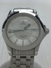 クォーツ腕時計/アナログ/ステンレス/SLV/1501/823/シーマスター/Seamaster