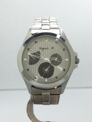 クォーツ腕時計/アナログ/ステンレス/SLV/SLV/5Y66-0AE0/トリプルカレンダー/セイコー製