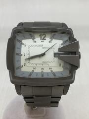 クォーツ腕時計/アナログ/DZ-1498/ガンメタ/日付/デイト/メンズ