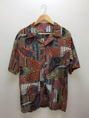 ORIENTAL PATTERN/オープンカラーシャツ/M/マルチカラー/総柄シャツ/LES109/開襟シャツ