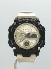 クォーツ腕時計/G-SHOCK/デジアナ/ラバー/GA-2000WM-1AJF/ジーショック