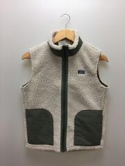 Retro-X Vest/ボアフリースベスト/XL/KHK/STY65619FA20/レトロXベスト