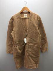 Locker Robe WT mosser/ロングカーディガン/L/ウール/CML/JM8766/ロッカーローブ