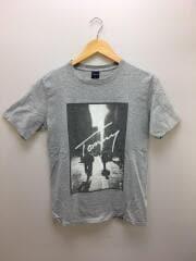 プリントTシャツ/M/コットン/GRY/21-4222819-210/1985 NEW YORK CITY