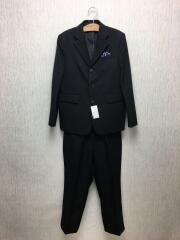 スーツ3点セット/140cm/ブラック/フォーマル3点セット/テーラードジャケット/スラックス/ネクタイ