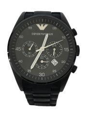 クォーツ腕時計_ラバー/アナログ/BLK