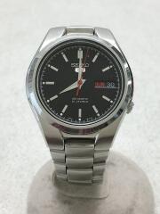 ファイブ/自動巻腕時計/アナログ/ステンレス/BLK/SLV/ブラック/7S26-02F0