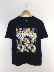 Tシャツ/M/コットン/BLK/無地