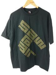 STUSSY ステューシー/Tシャツ/L/コットン/BLK