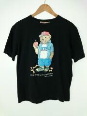 INTER BREED インターブリード/Tシャツ/L/コットン/BLK