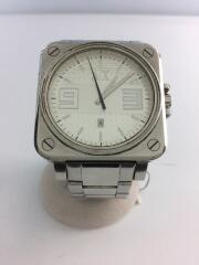 クォーツ腕時計/アナログ/ステンレス/シルバー/AX-1076/インポート/デザイナーズ