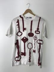 Tシャツ/M/コットン/WHT/WR-T001/AD2016
