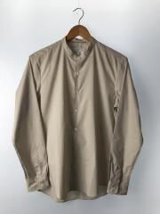 20年モデル/ノーカラーシャツ/M/ポリエステル/BEG/20-050-312-0501-3-0