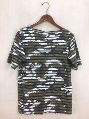 Tシャツ/S/コットン/KHK/カモフラ/SOPH-140037