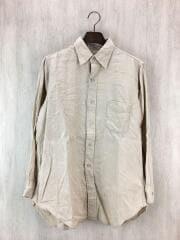 50s/ポプリンシャツ/コットン/BEG