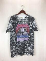 METALLICA/大判プリント/SAXY METALLICA/SCREEN STARS/バンドTシャツ/L