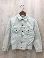 60s/941B/BIG E/ボタン裏D/ホワイト/ピケ/汚れ有/Gジャン デニムジャケット