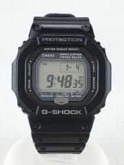 ソーラー腕時計・G-SHOCK/デジタル/ラバー/BLK/BLK/GW-5600J-1JF/使用感有