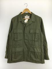 フィールドジャケット/ミリタリージャケット/M/コットン/KHK/FSM20SS025