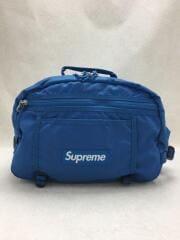 16SS Tonal waist bag blue/ウエストバッグ/ナイロン/ブルー