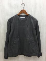 長袖シャツ/1/ナイロン/GRY/15-00870M