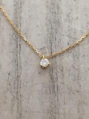 ネックレス/ダイヤモンド/0.05ct/k18