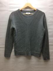 セーター(薄手)/1/コットン/GRY/ニット/グレー