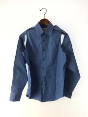 THOMAS MAISONシャツ/長袖シャツ/S/コットン/ブルー/3C017-0218-32