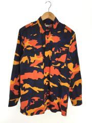 カモフラージュシャツ/長袖シャツ/Camouflage Shirts/38/コットン/マルチカラー/総柄