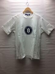 Tシャツ/M/コットン/WHT/WE-T002/プリントTシャツ/2020SS