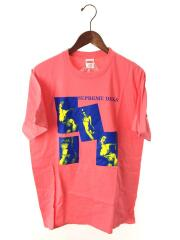 DICKS Tee/20AW/Tシャツ/M/コットン/PNK