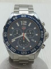 クォーツ腕時計/アナログ/ステンレス/ブルー/フォーミュラ1/CAZ1014/WUF6214/クロノグラフ FORMULA1  タキメーター
