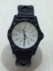 SAFARI/腕時計/アナログ/287000195011/レザー/ブラック//クォーツ