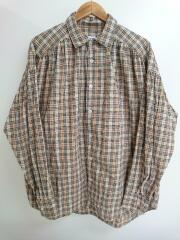 18AW/Painter Shirt/ノヴァチェック/長袖シャツ/M/コットン/ベージュ/チェック