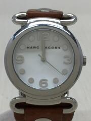 クォーツ腕時計/モーリー/アナログ/レザー/ブラウン/MBM1062