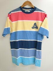 WIDE ON T-SHIRT/半袖Tシャツ/L/コットン/マルチカラー
