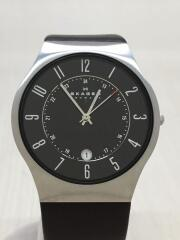 KLASSIK 233XLTTM #3/クォーツ腕時計/アナログ/ステンレス/ブラック