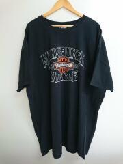 半袖Tシャツ/コットン/ブラック