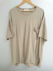 CALUX/半袖Tシャツ/XL/コットン/ベージュ