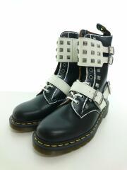 JOSKA STUD 10 EYE BOOT/スクエアスタッズバックルベルト/25171009/ブーツ/27cm