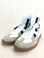 Replica Sock High/S37WS0459/箱付/未使用品/ハイカットスニーカー/41/ホワイト