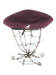 タグ付き/ウールモンティベレー帽/L/ウール/ボルドー/K3332SM