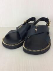サンダル/41/BLK/レザー//  Slide Sandal