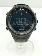 クォーツ腕時計/デジタル/ラバー/CORE